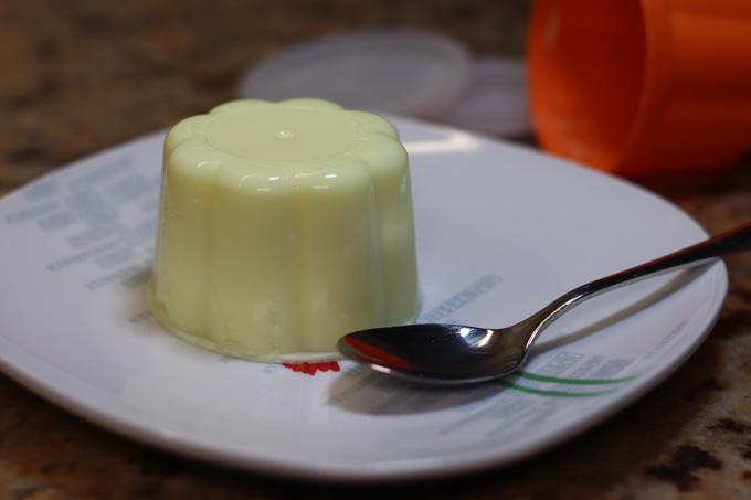 gelatina com queijo quark