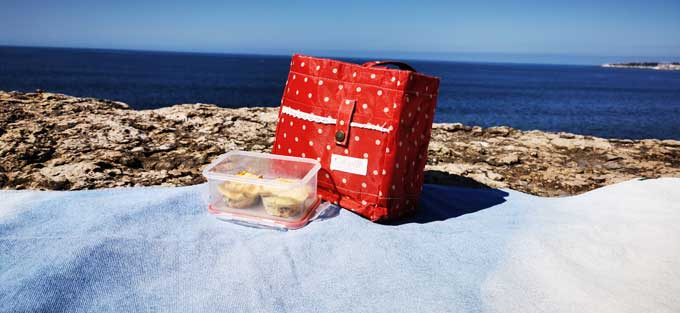 egg muffins para comer na praia