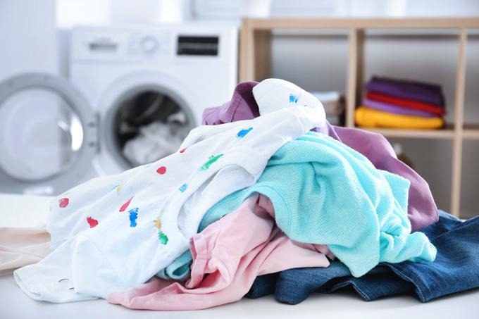 roupa para lavar